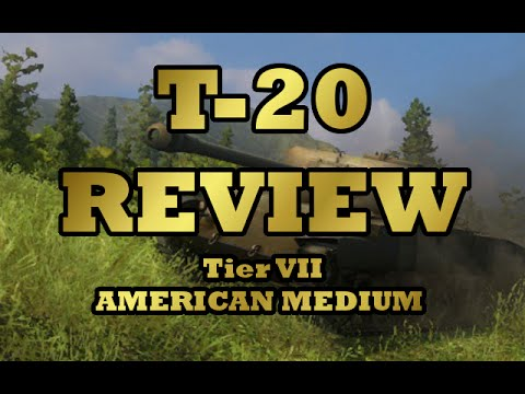 T-20 Review (Tier VII American Medium)  (World of Tanks Xbox)