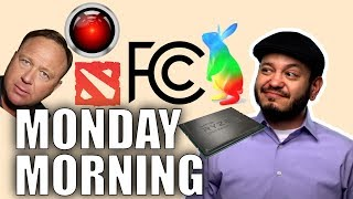 Threadripper 2 Embargo Tease, AI Crushes DOTA, FCC and Google Fiber, Apple vs Alex Jones - #SGGQA