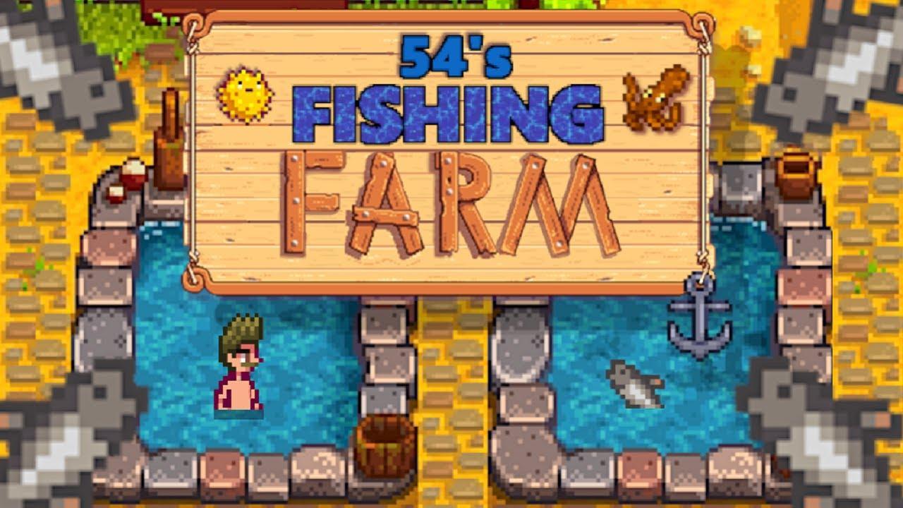 Stardew Valley 54 S Fishing Farm Such Chub Much Wow Youtube