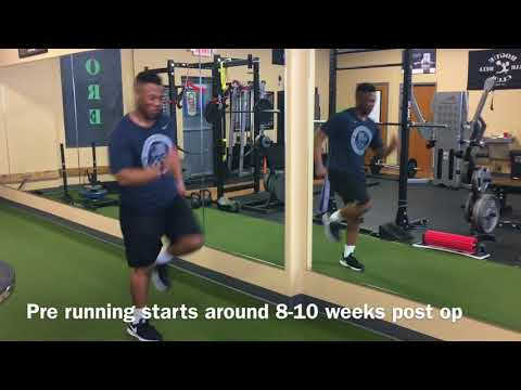 Sports rehabilitation in Omaha, CORE physical therapy ACL reconstruction