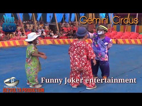 Funny Joker entertainment in circus
