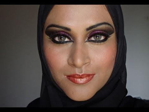 exotic arabic eyes   make up look   youtube