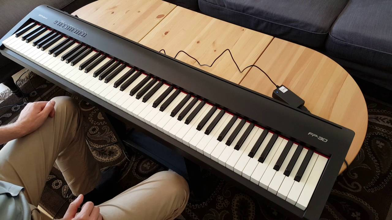 Roland Fp30 Review Digital Piano Review Guide