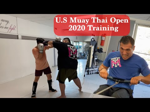 U.S Muay Thai Open 2020 Training!