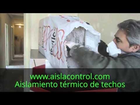 Aislamiento t rmico de techo en piso bajo cubierta youtube - Mejor aislante termico paredes ...