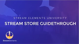 StreamElements Stream Store Guidethrough thumbnail