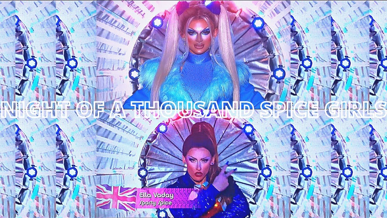 Download RuPaul's Drag Race   UK Season 3   Episode 4   Category Is : Night Of A Thousand Spice Girls   Gag?