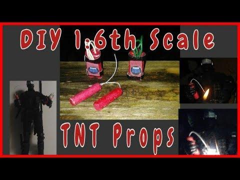 DIY 1:6th Scale TNT Props