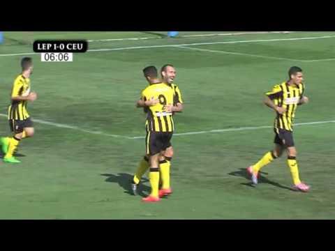 SAN ROQUE DE LEPE - AD CEUTA FC - 1ª PARTE