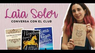 Entrevista con LAIA SOLER | EL CLUB CON VARU | BOOKTUBE PERÚ