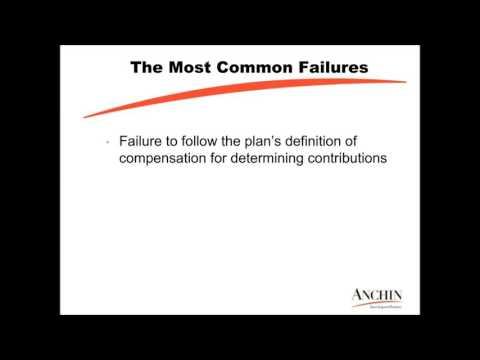 Avoiding Common Employee Benefit Plan Failures Webinar