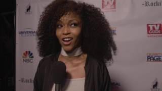 "Chicago Med: Yaya DaCosta """"April Sexton"" TV Guide Party Interview"
