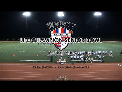 SL Broadcast | Hawaii Football Club Life Champion Senior Bowl (2014)