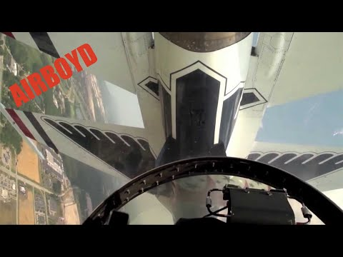 Ride Along With The Thunderbirds