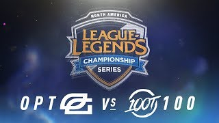 Video OPT vs. 100 - Week 8 Day 2 | NA LCS Spring Split | OpTic Gaming vs. 100 Thieves(2018) download MP3, 3GP, MP4, WEBM, AVI, FLV Juni 2018