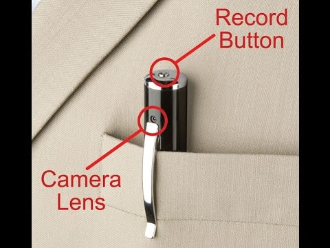 Pen Spy Camera MiniDV In Depth Review And Instructions
