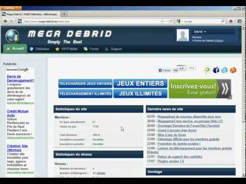 100liens fr - How to : Mega-Debrid
