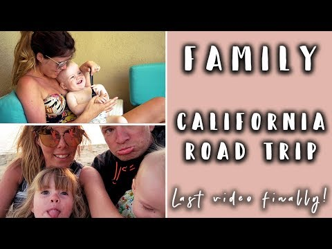 FAMILY CALIFORNIA ROAD TRIP - PALM SPRINGS TO SAN DIEGO TO HOME