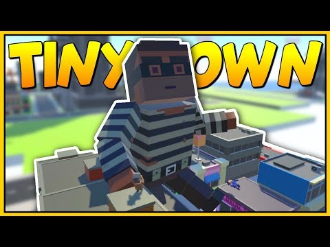 GIANT MAN ATTACKS THE CITY - NEW TINY TOWN UPDATE - Tiny Town VR Gameplay - VR HTC Vive