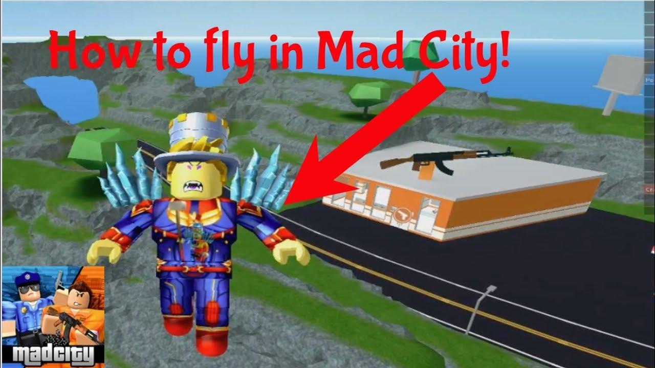 How To Fly In Mad City The New Roblox Jailbreak Tutorial Youtube
