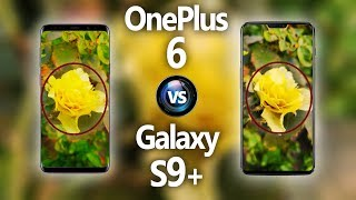 OnePlus 6 vs Galaxy S9+ Plus ||Camera Comparison|| 🔥 [HUGE DIFFERENCE!]