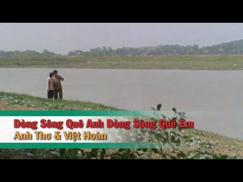 [Karaoke] Dòng Sông Quê Anh Dòng Sông Quê Em (SC) - Anh Thơ_Việt Hoàn (Beat HD)