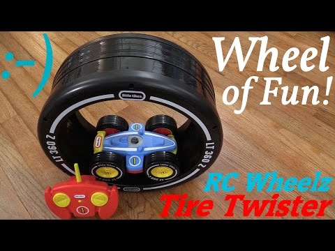 Toddler's Toy: An RC Car! Little Tikes' Tire Twister Unboxing and Playtime w/ the Kids