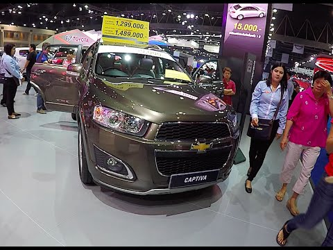 New SUV Chevrolet Captiva 2016, 2017