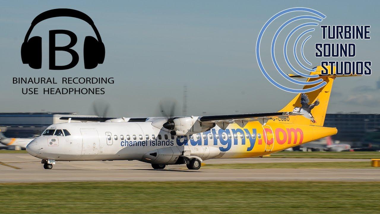 TSS - ATR-72 Binaural recording