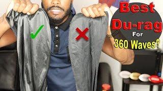 How 2 Pick Best Du-rag For 360 Waves! Silky vs Poly vs Velvet