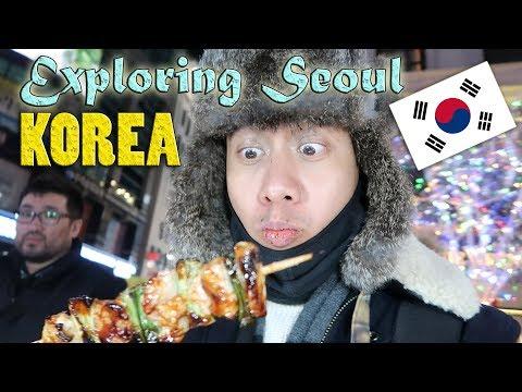 OMG! EXPLORING THE STREETS OF SEOUL, KOREA (Myeong-dong) | Vlog #28