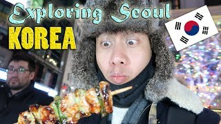 OMG! EXPLORING THE STREETS OF SEOUL, KOREA (Myeong-dong) | Vlog #28