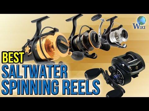 10 Best Saltwater Spinning Reels 2017
