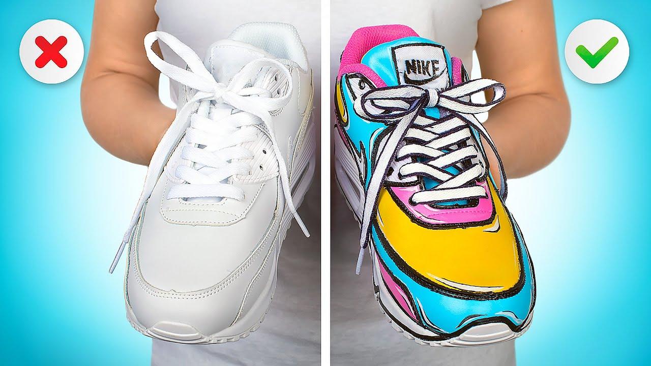 Cách Biến Hóa Sáng Tạo Giày Air Max Theo Phong Cách HOẠT HÌNH