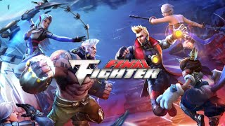 Final Fighter Gameplay, picchiaduro in stile Street Fighter per Android