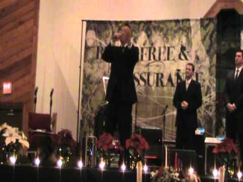 Brian Free sings Never Walk Alone