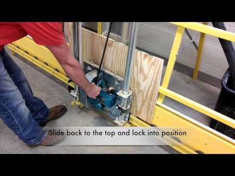 BC Video Vertical Saw