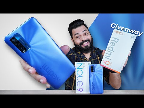 Redmi 9 Power Indian Unit Unboxing & First Impressions   Giveaway ⚡ 6000mAh, Stereo Speakers & More