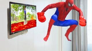 Coleção de vídeos de jogos Boram engraçados em super-heróis