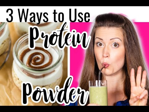 3 Ways to Use Protein Powder | Healthy, Dessert-Inspired Recipes
