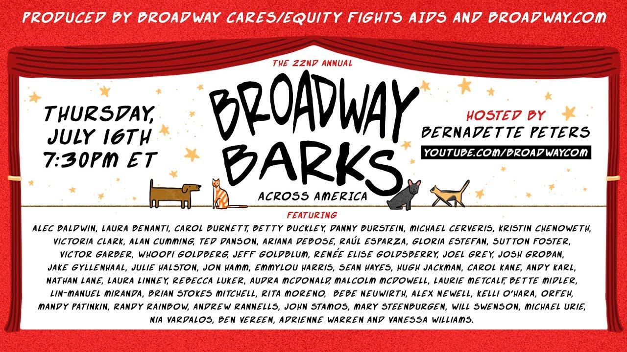 Broadway Barks 22 - Broadway Barks Across America - Hosted by Bernadette Peters