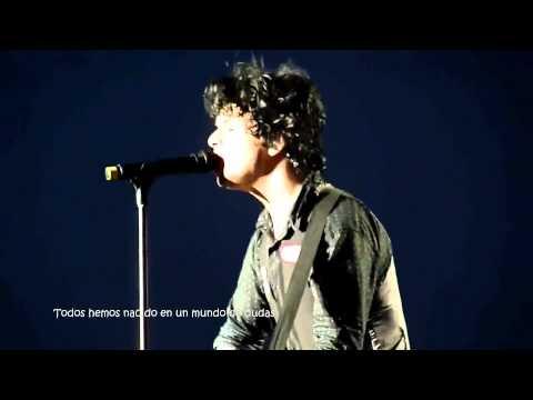 Green Day - When It's Time- Live in Manchester - Subtitulada al español HD