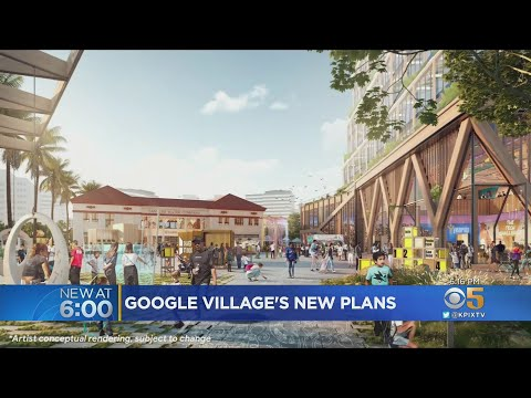 Plans Unveiled For Massive Google Village In Downtown San Jose