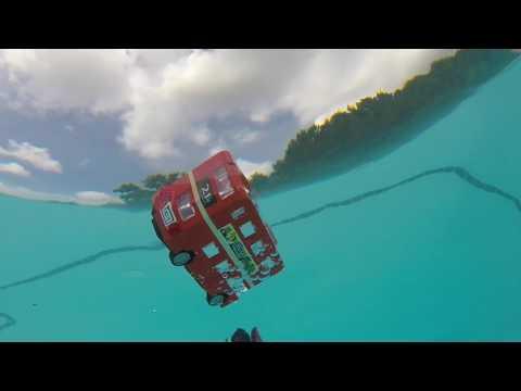 LEGO LONDON BUS - Flotation Test