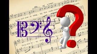 Как выучить НОТЫ в скрипичном и басовом ключе   Музыкальная академия Глория