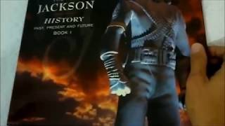 Michael Jackson HIStory LP Box Version unboxing