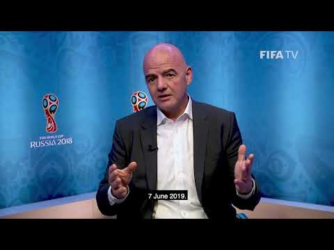 FIFA President Message On The Occasion Of The FIFA Women's World Cup France 2019, One Year To Go