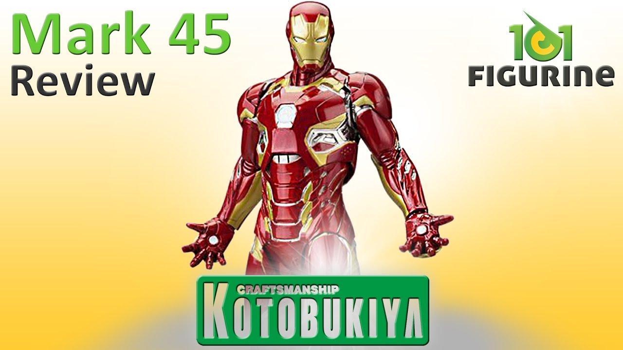 Avengers Age Of Ultron Iron Man Mark 45 Kotobukiya Artfx Statue