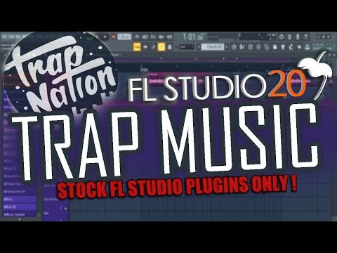 TRAP MUSIC TUTORIAL IN 2 MINUTES | FL Studio 20 | FREE FLP