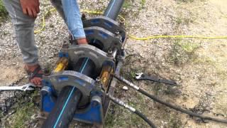 Hướng dẫn hàn ống nhựa HDPE bằng máy hàn gia nhiệt
